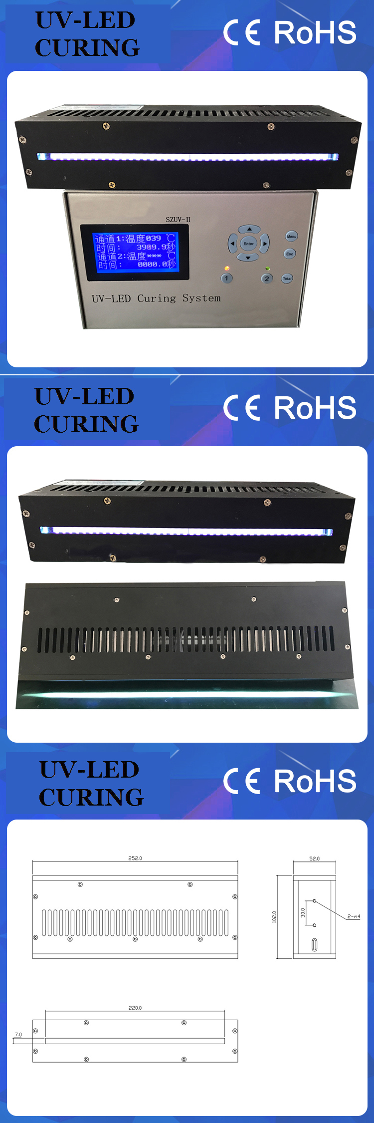 Professional and Effective UV LED Curing Dryer Lamp