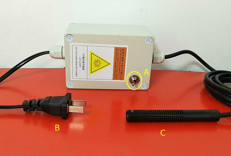 UV LED Curing Light Source 7w