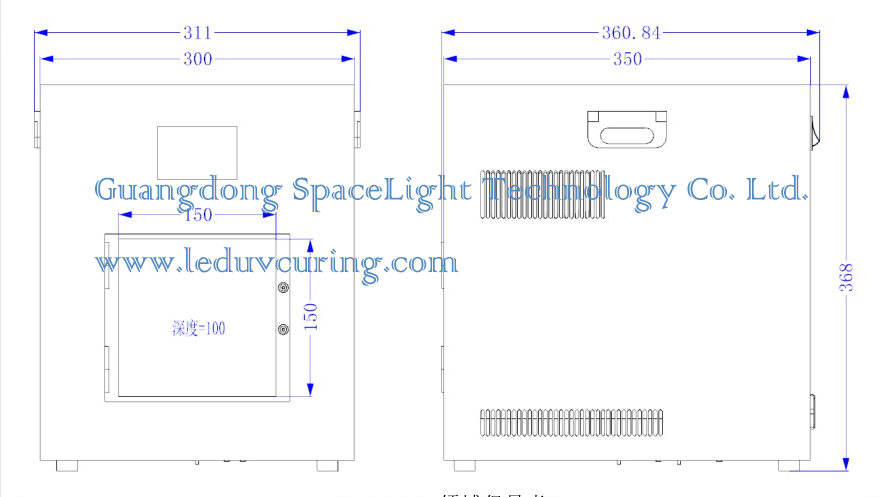 Industrial Specilization UV Light Curing Box 365nm Suppliers