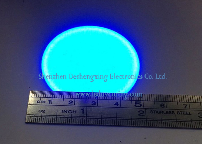 Standard Uniform UV Light Spot Lens for UV Point Light Source