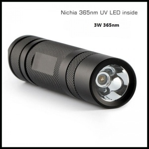 UV LED Flashlight