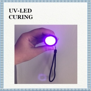 Inside 3W UV LED Flashlight